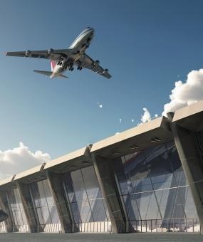 მე -3 აეროპორტის სამუშაო შენობები კარმოდმა დაასრულა