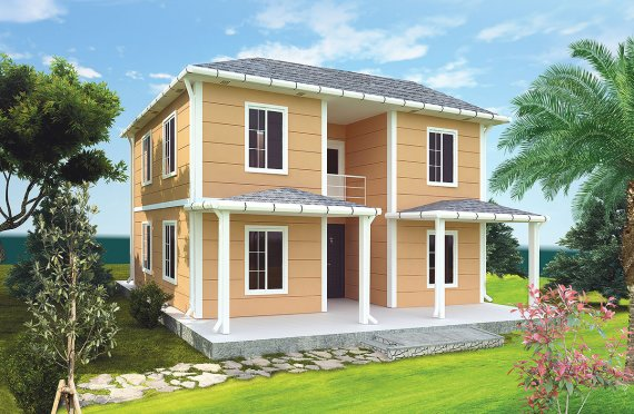 ასაწყობი სახლი 148 კვ.მ