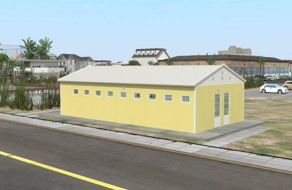ასაწყობი საპირფარეშო&საშხაპე შენობა 82 კვ.მ