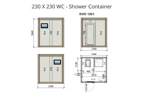 KW2 230x230 საპირფარეშო-საშხაპე კონტეინერი