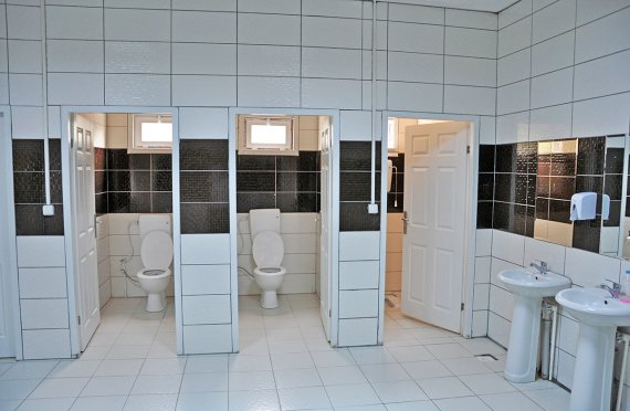 ასაწყობი ტუალეტი და სახშაპე