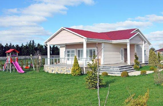 ერთსართულიანი ასაწყობი სახლები