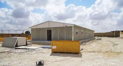 ლიბიაში ნავთობის მოპოვებისთვის ასაწყობი შენობის წარმოება დასრულდა.