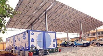 კარმოდის ახალი თაობის კონტეინერები ნიგერიაში გამოიყენება მზის ენერგიით სარგებლობისთვის.