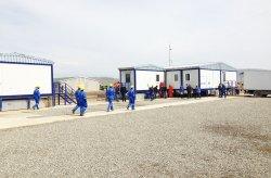 ასაწყობი შენობები შაჰდენიზ 2 პროქტისთვის აზერბაიჯანში