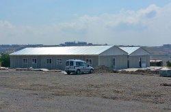 სტამბოლი - ასაწყობი შენობები ბუნებრივი აირის მილსადენისთვის ჩანაქქალეში დასრულდა.