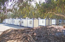 ლიბიაში კონტეინერებით აშენებული სამუშო დასახლება დასრულდა